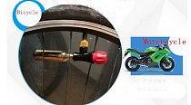 Motorcycles Tire Repair Tools kits 16g CO2 Cartridge Adapter Pump for Cycling MTB Road Bike Mini Portable Air Inflator Tire