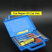 Tire Repair Kit Car Van Motorcycle Bike Tire Repair Tools Emergency Heavy Duty Tubeless Tire Puncture Repair Kit Plug Se