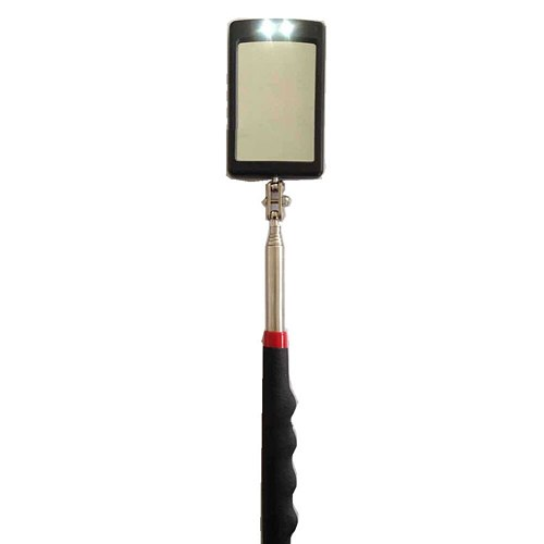 Auto LED Light Extendible Inspection Mirror Endoscope Car Chassis Angle View Automotive Telescopic Detection Tool Equipment