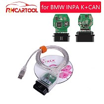 OBD2 INPA Ediabas K+D CAN diagnostic Auto cables With FT232RL for BMW Interface USB with 20 Pin to 16 pin adapter free shipping