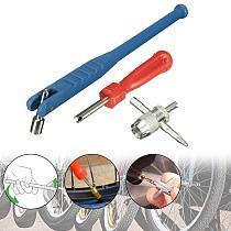 3PCS/Set Car Motorcycle Tire Valve Stem Puller Installer Repair Tool Set ire Valve Stem Puller Tube Metal Tire Repair Tools