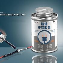 125ml Liquid Insulation Tape Liquid Insulation Electrical Tape Paste Waterproof Anti-UV Fast Dry Tire Repair Tools