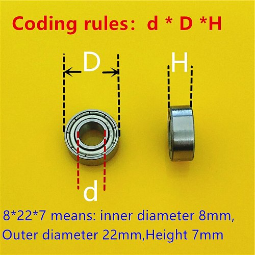All kinds of Ball Bearing 608ZZ  686ZZ Chrome Steel Sealed Flanged Roller Skate Scooter Pulley Wheel Dropshipping