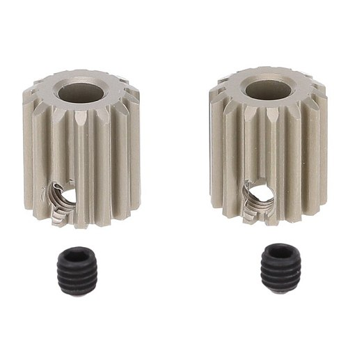 2Pcs 48DP 3.175mm 14T Motor Pinion Gear for RC Car Brushed Brushless Motor