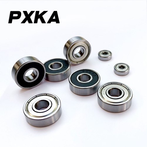 10Pcs/set 608 2RS Ball Bearing ABEC-5 8X22X7 mm Deep Groove Steel Sealed Ball Bearings 608RS Z3V3 608-2RS 608rs Bearing