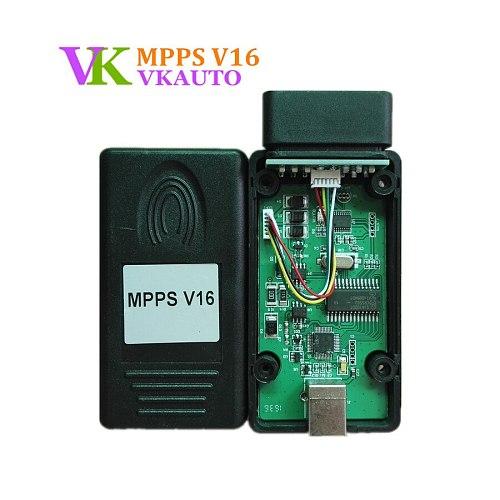 New MPPS V16 ECU Programming Tool Support Edc15 Edc16 Edc17 Inkl Checksum Read And Write Memory MPPS V 16