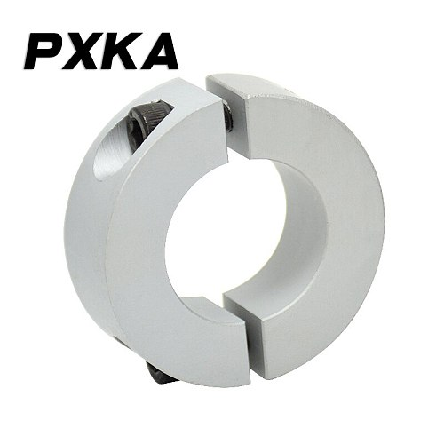Free shipping 1PCS separation type optical shaft fixed ring locking ring limit ring bearing fixed spindle retaining ring