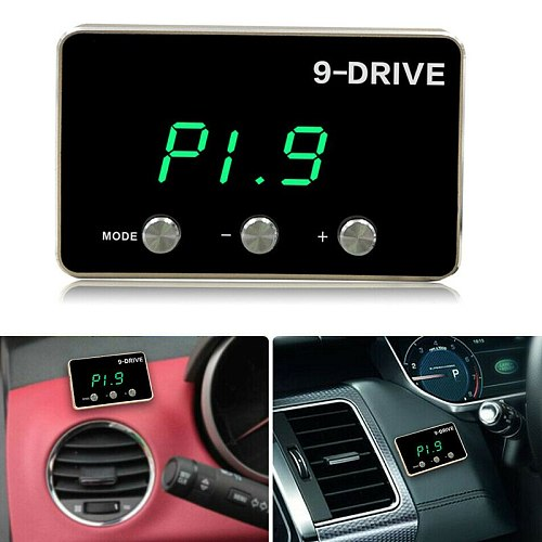 CITALL Car Plastic 9 Drive 9-Mode Electronic Throttle Controller 6 Pin fit for Dodge Ram Ford Chevrolet