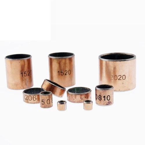 2PCS Inner Diameter 17 18 19 20 22mm SF-1 Self-lubricating Bearing Oilless Bushing Sleeve Heigh 10-40mm