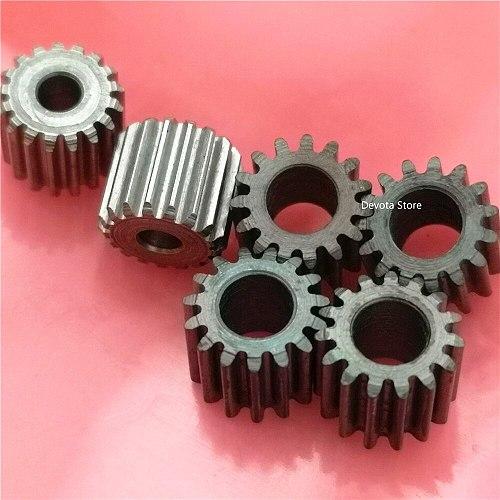 2pcs 0.5M 0.6M Motor Starting gear Tight fit 11 12 13 15 17 19 Teeth 2.3 3.175 4 5 6 8 mm Bore diameter 1M=Convex gear