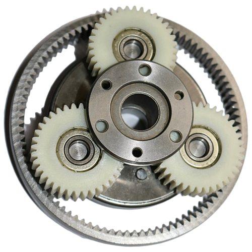 Hot Sale 1 Set 36T Gear Diameter:38Mm Thickness:12Mm High Speed Electric Motor Motor Nylon Gear + Ring Gear + Clutch