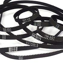 1Pcs 2GT-188 To 2GT-228 3D Printer Parts Closed Loop Timing Belt Rubber GT2 Width 6mm 10mm Synchronous Belts Part