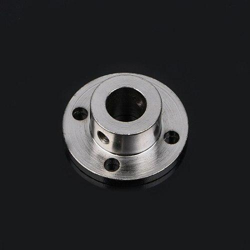 Rigid Flange Coupling Motor Guide Shaft Coupler Motor Connector 3/4/5/6/7/8/10mm