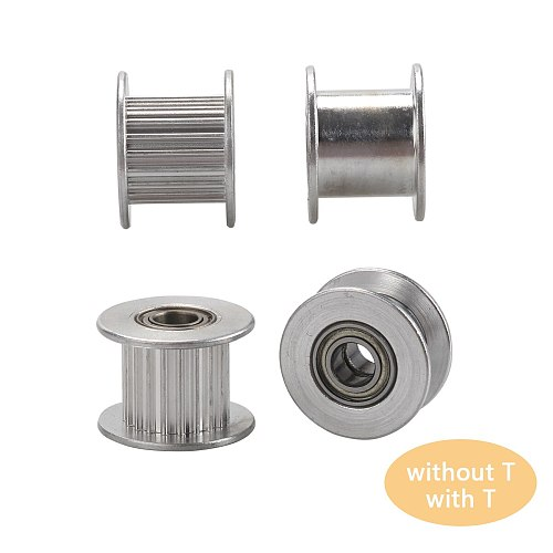 1Pc GT2 Idler Timing Pulley 20 Tooth Wheel Width 6/10mm Bore 5mm Aluminium Gear Teeth 3D Printers Parts For Reprap Parts