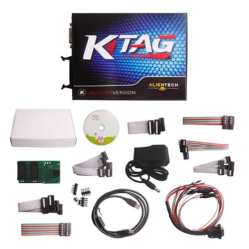 Ktag ECU Programmer V2.23 FW V7.020 K TAG ECU Programming Tool Master Version With Unlimited Token
