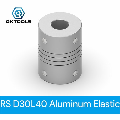 GKTOOLS Aluminium CNC Motor Jaw Shaft Coupler 5mm To 16mm Flexible Coupling OD 30x40mm Dropshipping 5/6/6.35/8/10/12/14/15/16mm
