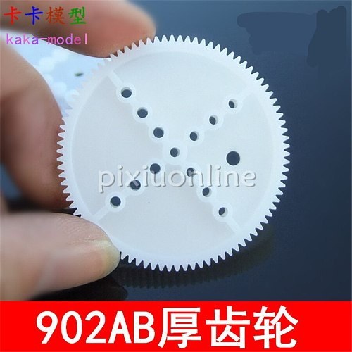 5pcs Sale K988 90T Middle Hole Diameter 2mm Plastic Gear Free Shipping Russia
