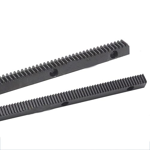 Hole 1M 1.5M 2M Spur Rack 12*12*0.5 15*15*0.5 20*20*0.5 Pitch of Hole 100mm Surface Blackened Treatment 45# Steel