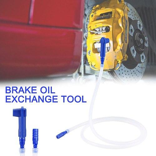 Car Brake Oil Exchange Tool Oil Filling Equipment Oil Bleeder Drained Kit Brake Oil Changer Brake Oil Exchange Tool New