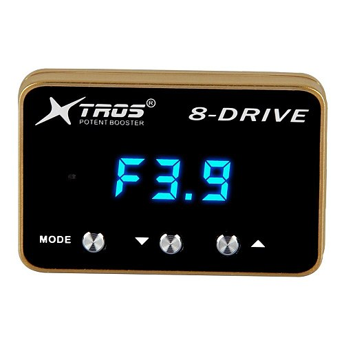 Car Electronic Throttle Controller Racing Accelerator Potent Booster Pedal Commander Accelerator For Cars Universal Controller