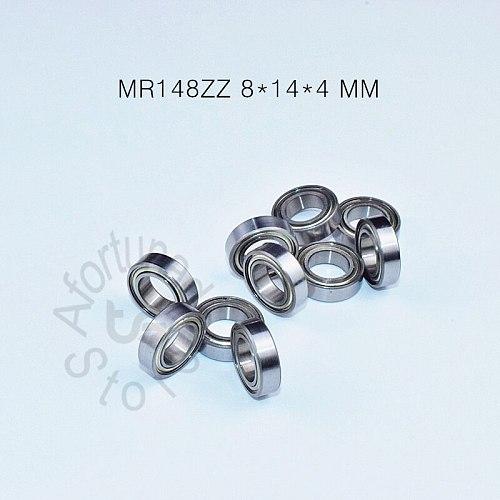MR148ZZ 8*14*4(mm) 10piece free shipping ABEC-5 bearing Metal Sealed Miniature Mini Bearing  MR148 MR148ZZ chrome steel bearings