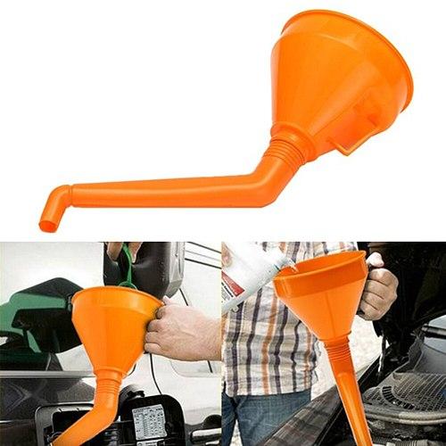 Car Filling Equipment Universal Plastic Motorcycle Refuel Gasoline Engine Oil Funnel with Filter Brake Liquid Filling Equipment