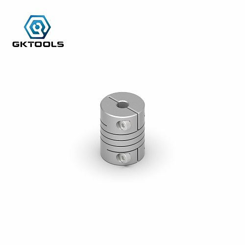 GKTOOLS CNC Coupler Couples  OD 15X20mm ID 3/3.17/4/5/6//6.35/8mm Aluminium Stepper Motor Flexible Shaft Coupling