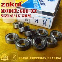 ZOKOL 688 ZZ 2RS 688RS 688 bearing Miniature 688ZZ  P5Z4 Z1 Deep Groove ball bearing 8*16*4mm 8*16*5mm