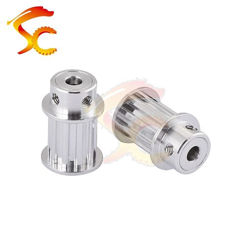 3D Printers Parts printer pulley T5 10 teeth bore 5mm T5 10 teeth timing pulley fit for T5 belt width 16mm