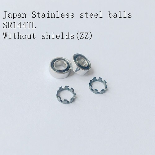 10pcs High Speed handpiece turbine rotor stainless ball bearings SR144TL for CA Dabi