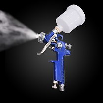AHVLP H-2000 Pneumatic Spray Paint Gun 0.8mm Nozzle Professional Nozzle Paint Gun for Furniture Painting DIY Car Paint Tool