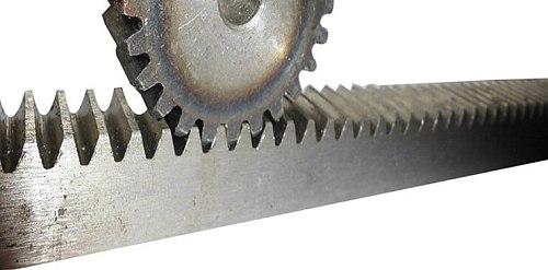 1 module metal gear rack motor parts 12*28/12*38cm