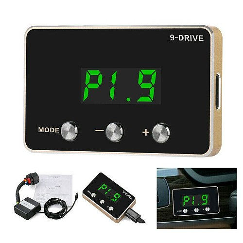 6 Pin Car Plastic 9 Drive 9-Mode Electronic Throttle Controller fit for Dodge Ram Ford Chevrolet