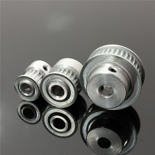 New 16/20/36T GT2 Aluminum Timing Pulley For 2mm Pitch 6mm Width GT2 Timing Belt