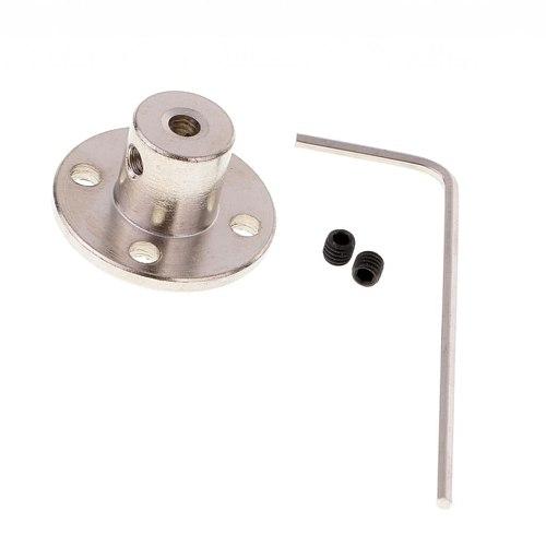 4/5/6/8/mm Iron Rigid Flange Coupling Iron Motor Guide Shaft Coupler Motor Connector Set Power Transmission Parts Hardware