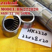 ZOKOL bearing HK222818 HK2218 HK222820 HK2220 HK222830 Needle Roller Bearing 22*28*18/20/30mm