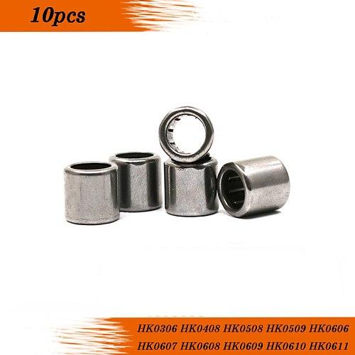 10pcs HK0306 HK0408 HK0508 HK0509 HK0606 HK0607 HK0608 HK0609 HK0610 HK0611 HK0612   draw cup needle roller bearing