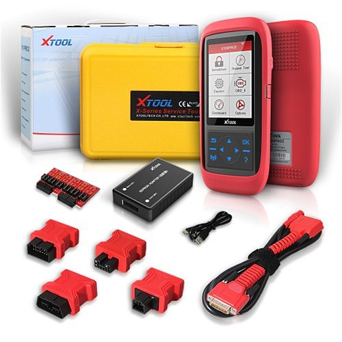 Original Xtool X100 Pro 2 OBD2 Key Programmer X100 PRO2 Car Key Programming with EEPROM Adapter Support Almost Cars