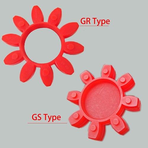 GR-14 GS-19 GR-19 GS-24 GR-24 Red Polyurethane PU Flexible Pump Shaft Coupling Elastic Spider Buffer Damper Cushion Element