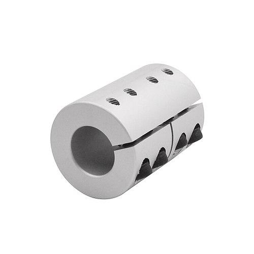 diameter 40mm length 55mm clamping rigid Coupling aluminum for Engraving machine shaft coupler Motor Connector