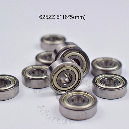 625 625ZZ 5*16*5(mm) 10pieces bearing free shipping ABEC-5 bearings metal Sealed Bearing 625 625Z 625ZZ chrome steel bearing