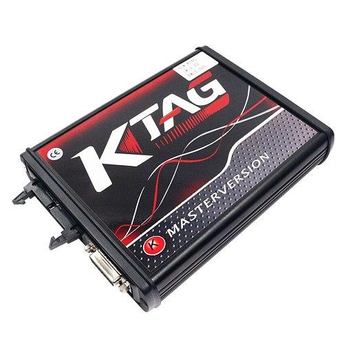 KTAG V7.020 Red PCB ECU Programming V7.020 KTM100 KTAG ECU Programming Tool Master software V2.23 with Unlimited Token