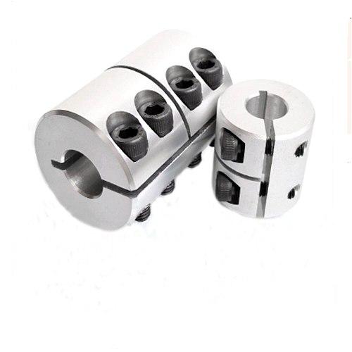 1pc 19x19/17x19/17x20 aluminum flexible shaft coupler clamping rigid coupling motor connector D40 L50