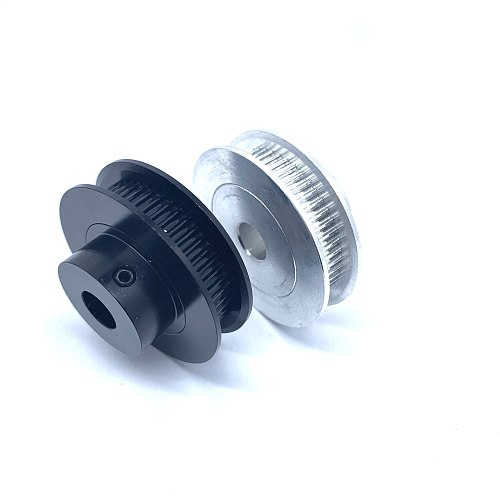 2Pcs 2GT 50 Teeth Timing Pulleys Bore 5mm 6.35mm 8mm 25mm Synchronous Wheels For 6mm Width Belt