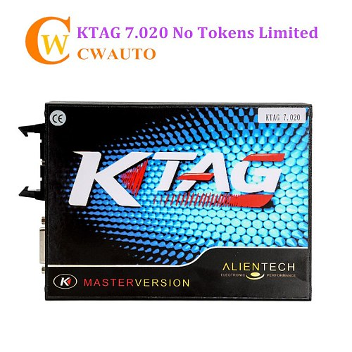 Latest V2.25 KTAG V7.020 ECU Programming Tool Master Version with Unlimited Token Free Shipping