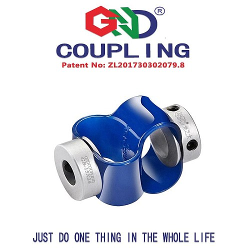 high quality aluminum alloy 8 fonts encoder special series GB D15mm L31mm fexible shaft coupling
