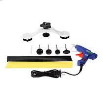 Yetaha Car Sheet Metal Tools Set Bridge Dent Puller New 20W Mini Hot Melt Glue Gun PDR Glue Sticks Dent Puller Kit Car Repair