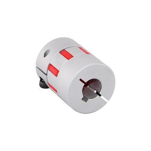 12mm*12mm/12mm*14mm Flexible Jaw Coupling 30x40mm CNC Stepper Motor Key-way Shaft Coupler Encoders Aluminum Alloy