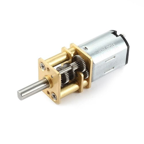 Micro-Speed Reduction Motor Mini Gear Box Motor with 2 Terminals for RC Car Robot Model DIY Engine Toy