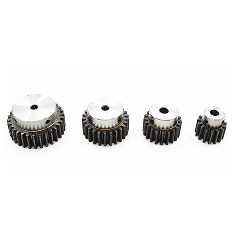 1pcs Spur Gear pinion 1.5M 12T  12Teeth Bore 6mm 8mm Mod 1 .5 14T 15T 16T  45# steel major gear
